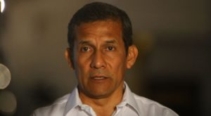 Ollanta Humala declara sobre presuntos aportes de Odebrecht