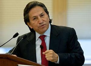 Alejandro Toledo presenta hábeas corpus contra prisión preventiva