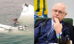 Avioneta donde iba el juez del caso Lava Jato se estrella en Brasil