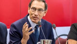 Martín Vizcarra presentó su renuncia pero no fue aceptada