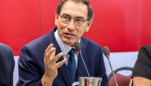 Interpelación de Martín Vizcarra en manos de la Contraloría General