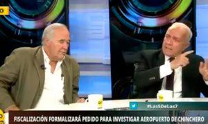 Víctor García Belaunde y Guido Lombardi tuvieron acalorada discusión