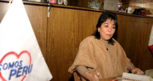 Patricia Li presidenta de Somos Perú