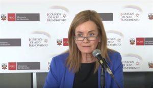 Marilú Martens se reuniría con representantes de cada región por huelga magisterial
