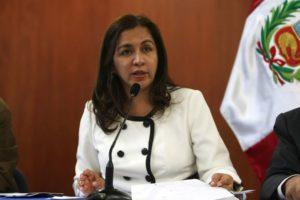 """Marisol Espinoza afirma """"Estamos perdiendo tiempo para debatir reforma electoral"""""""