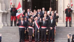 PPK juramentó nuevo gabinete ministerial