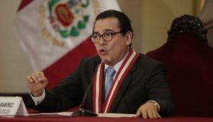 Enrique Mendoza dice indulto a Alberto Fujimori no está en agenda