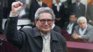 Abimael Guzmán fue expulsado de audiencia