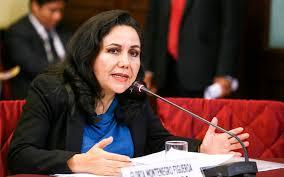 Gloria Montenegro denuncia agresión del fujimorismo