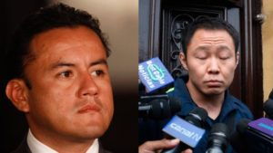 Kenji Fujimori y Richard Acuña se enfrentarón en Twitter